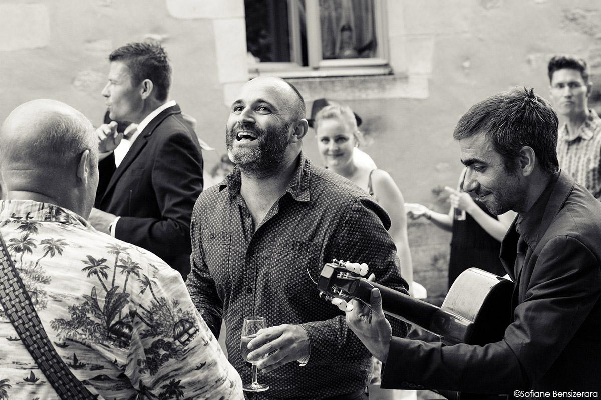 photographe vin d'honneur mariage