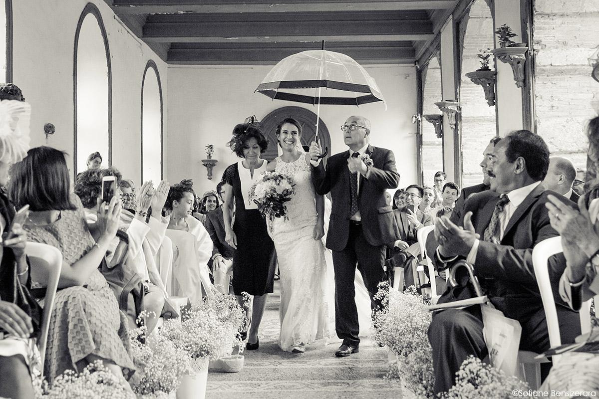 cérémonie mariage extérieur photo