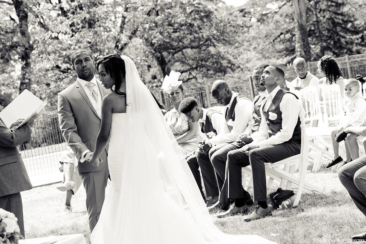 secular ceremony wedding photography