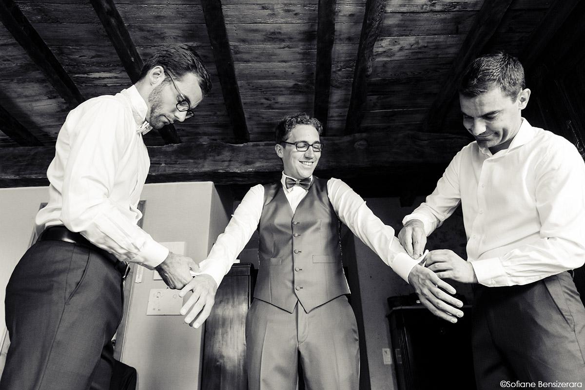 preparatif mariage photo