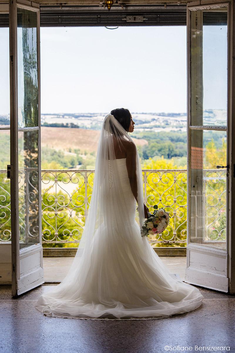 portrait mariée mariage photographe