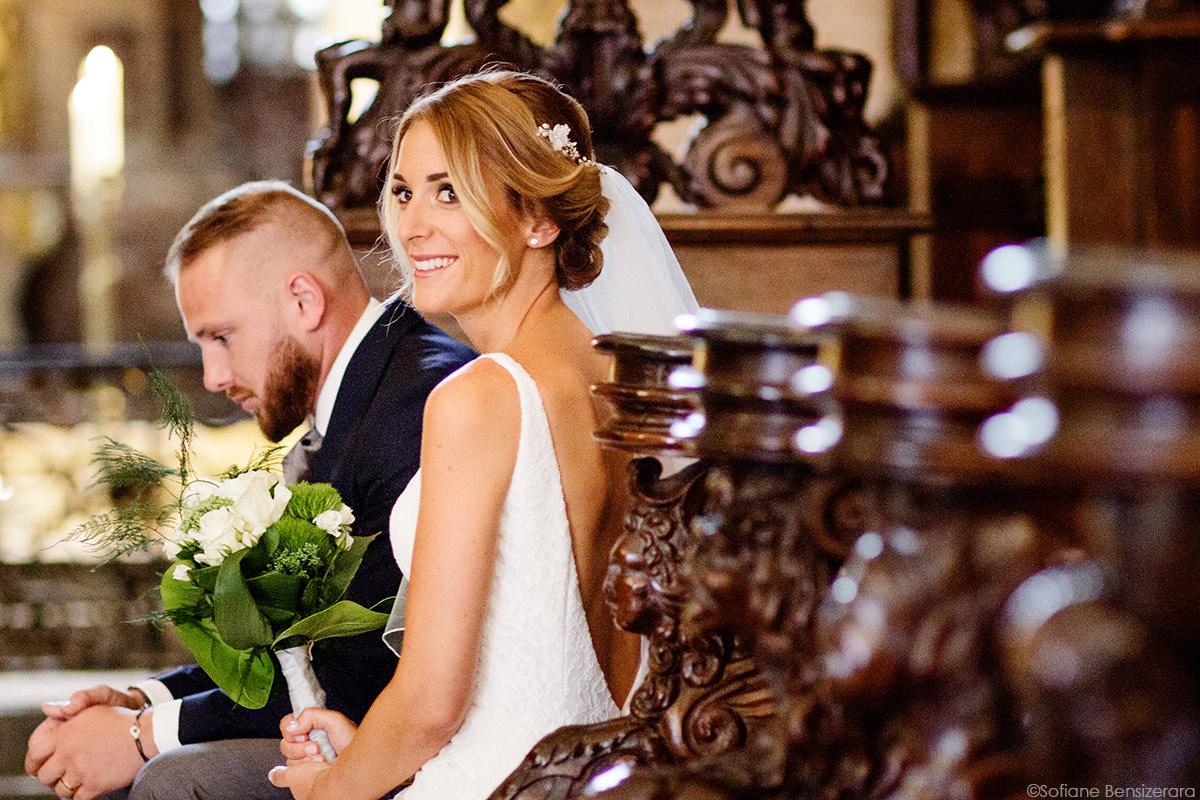 bouquet mariee eglise photographe mariage