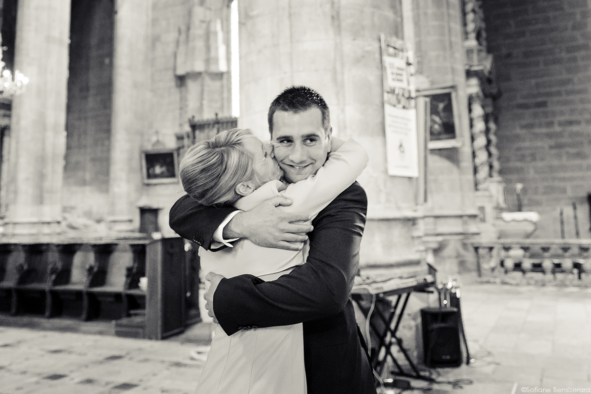 photo mariage gers cathedrale auch