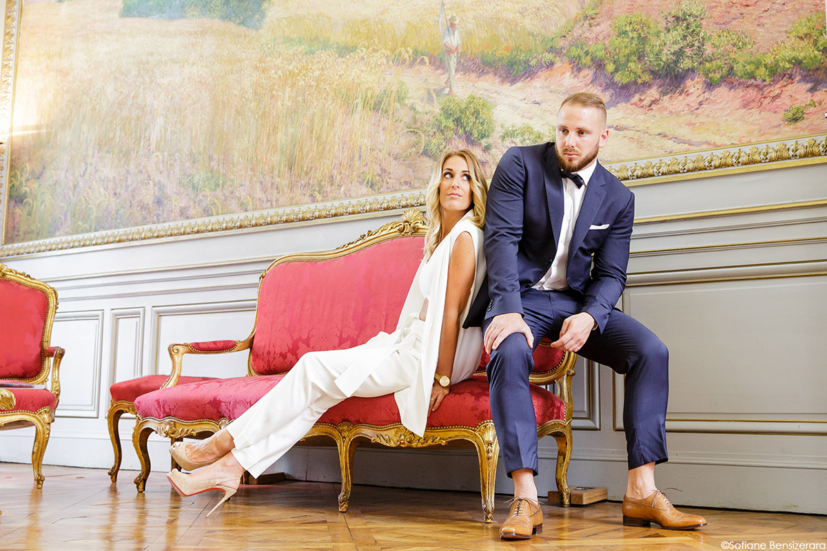 Photographe mariage chic toulouse