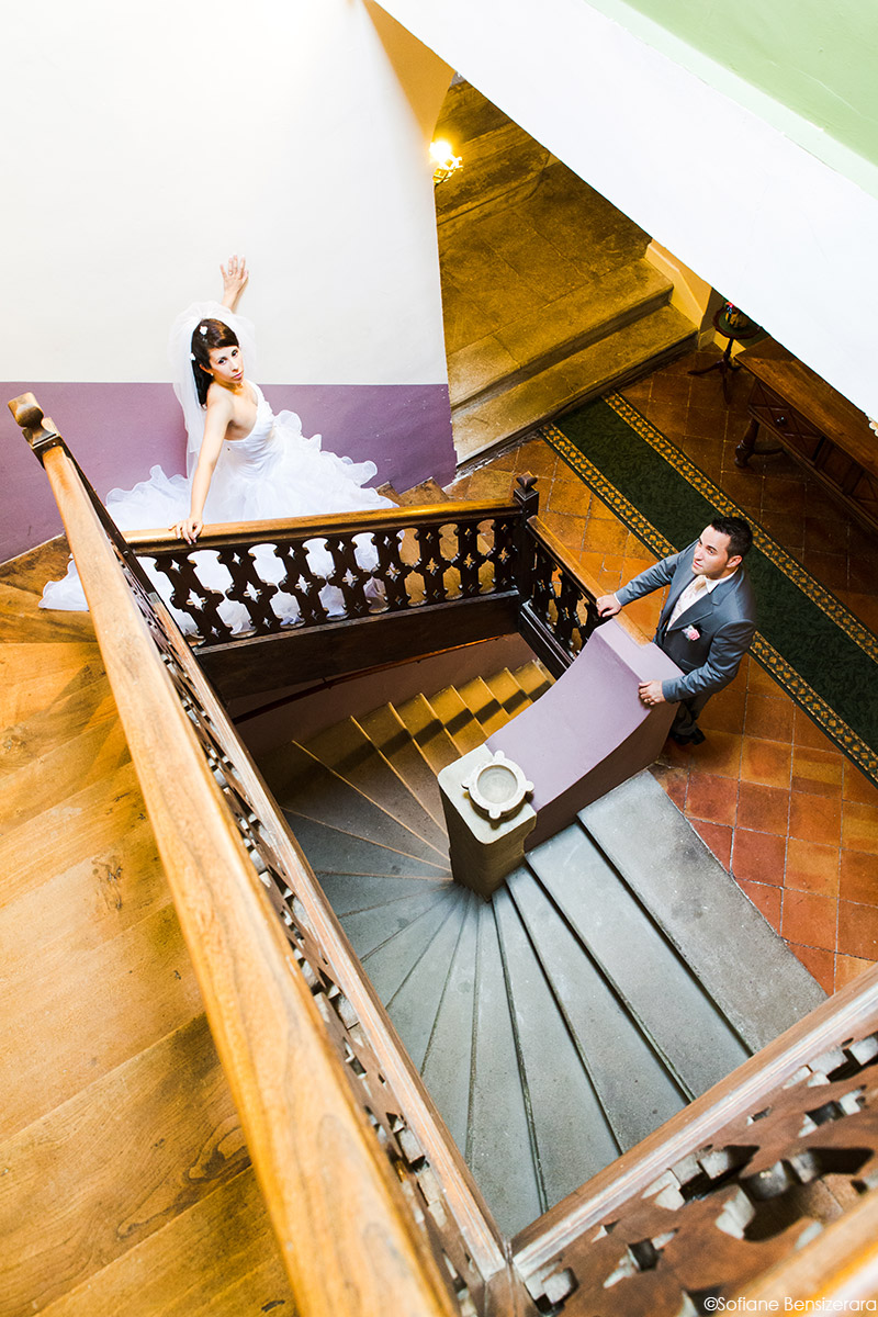 photographe mariage chateau croisillat