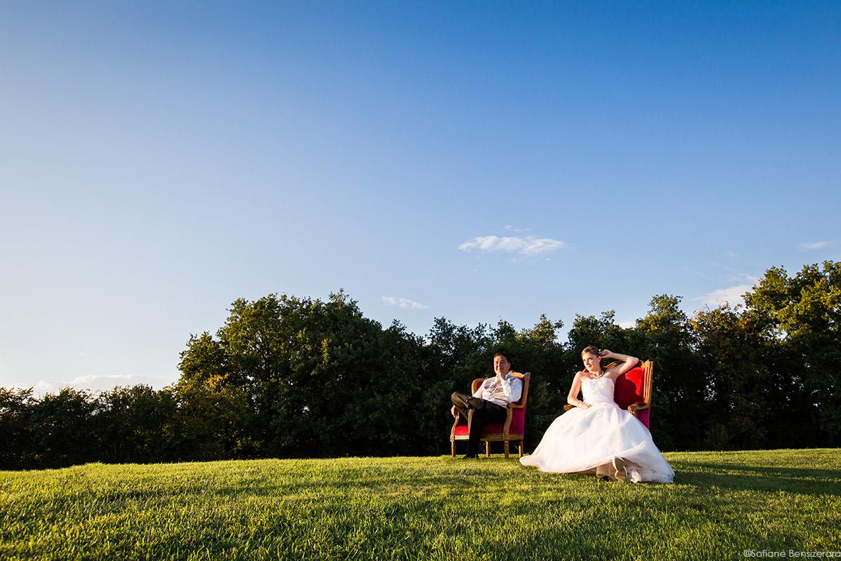 photographe couple mariage domaine beausoleil toulouse