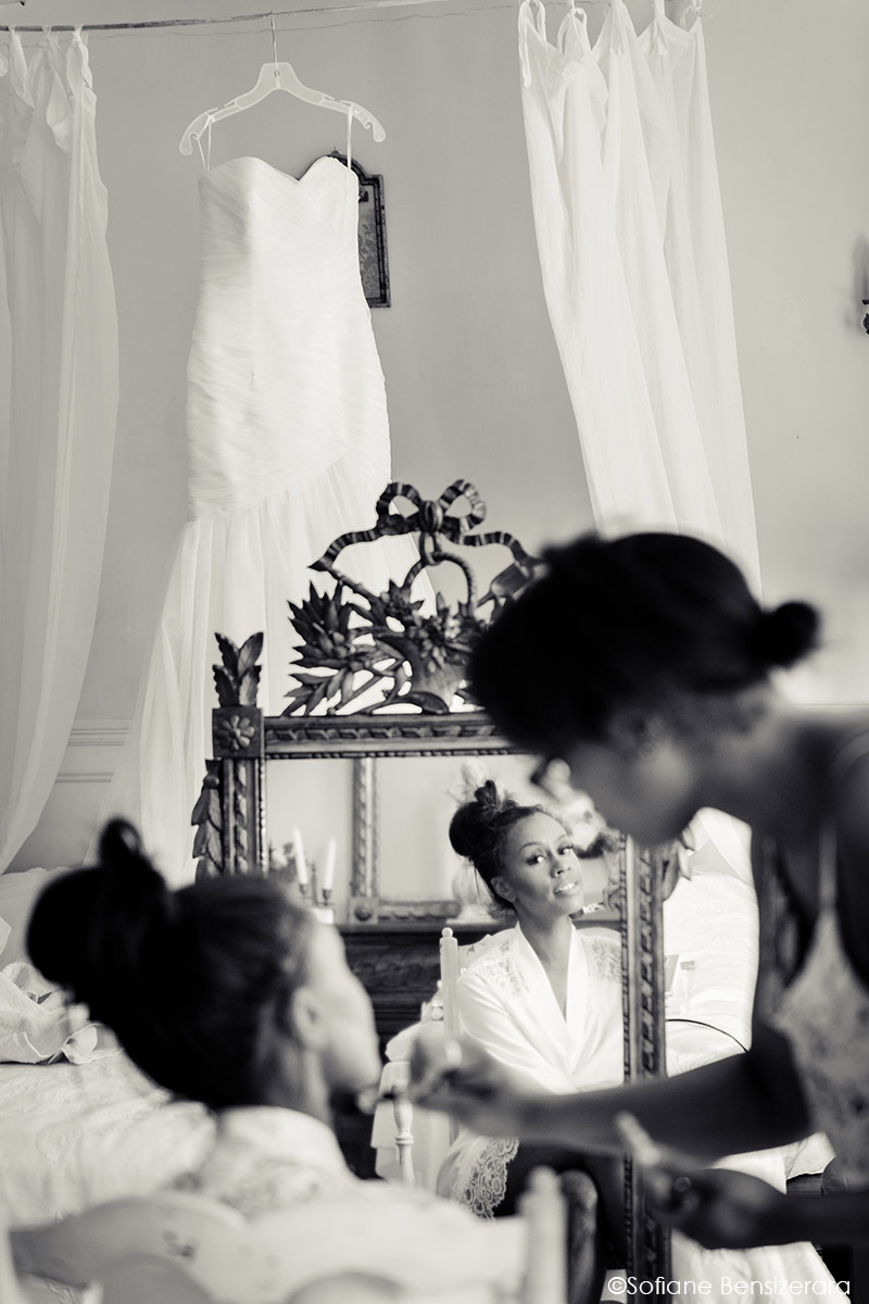 preparation du mariage photographe