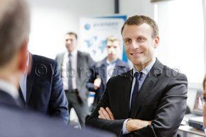 president macron visite toulouse
