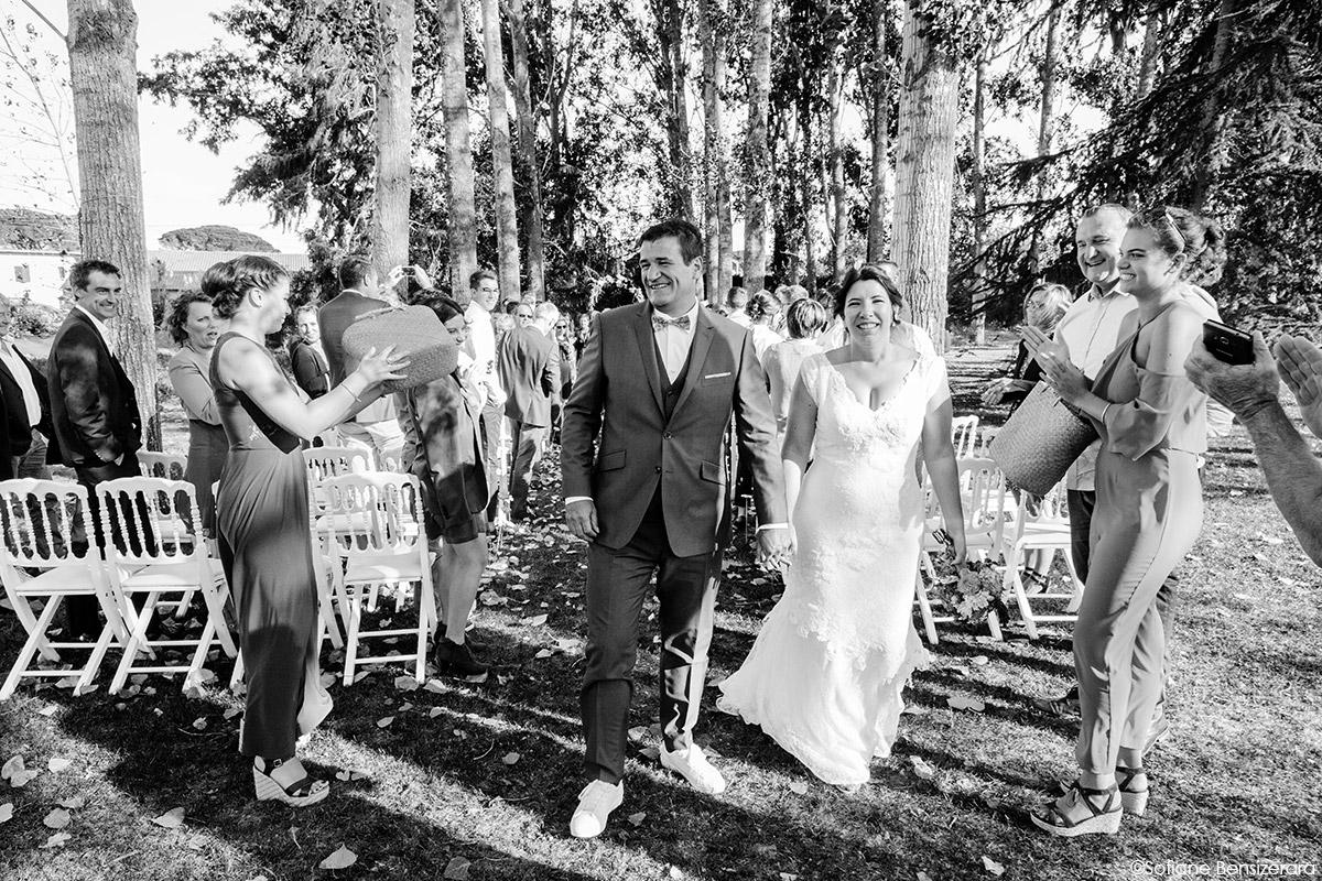 Mariage d'Aurore et Jérôme au Château de Mousens 38 cérémonie ceremony mariage toulouse