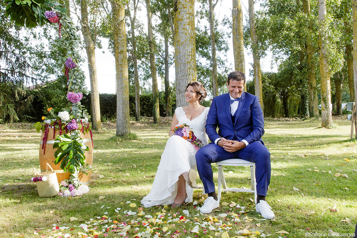 Mariage d'Aurore et Jérôme au Château de Mousens 31 cérémonie photographe mariage toulouse