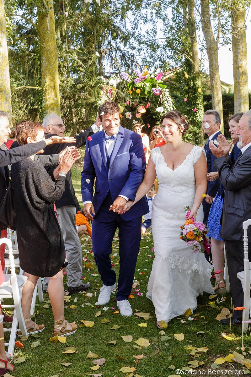 Mariage d'Aurore et Jérôme au Château de Mousens 40 mariage photographe toulouse