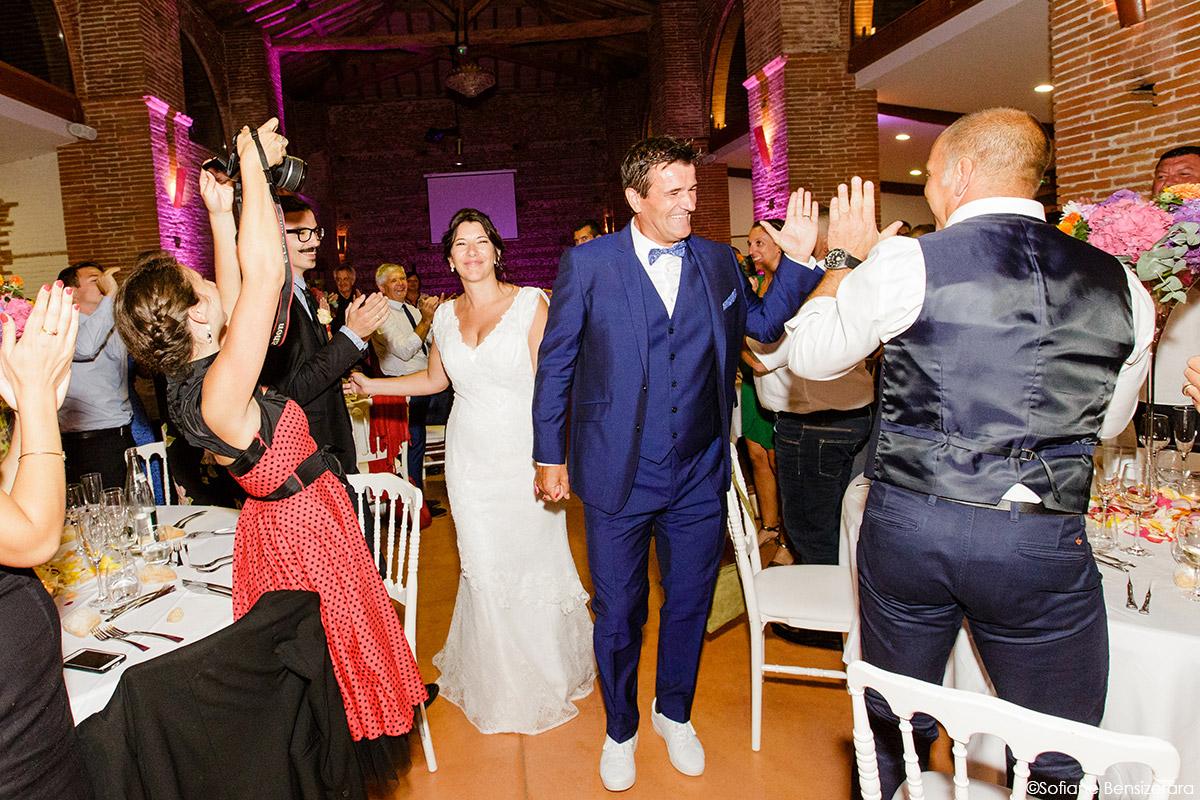 Mariage d'Aurore et Jérôme au Château de Mousens 64 photographe mariage soirée toulouse