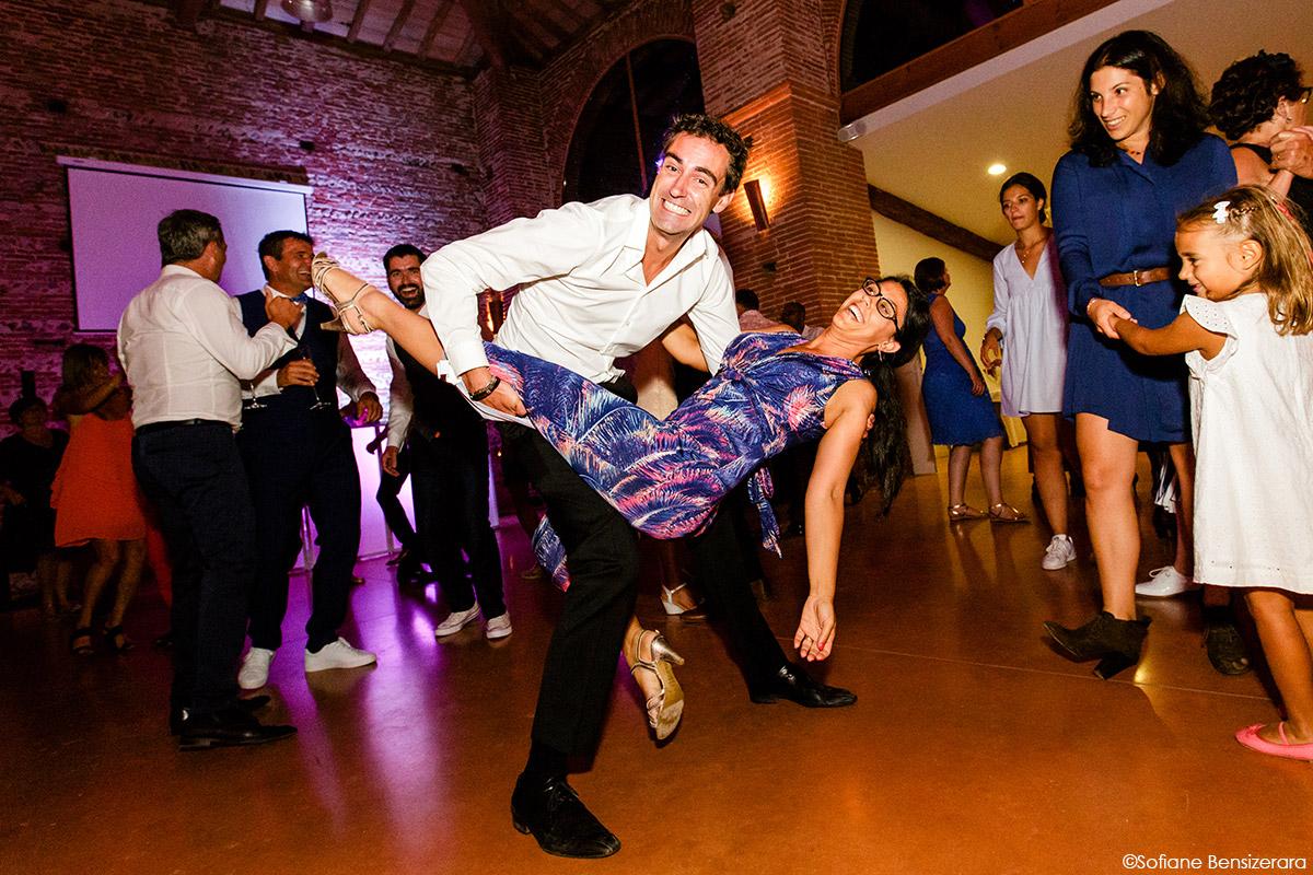 Mariage d'Aurore et Jérôme au Château de Mousens 65 photographe party mariage soirée
