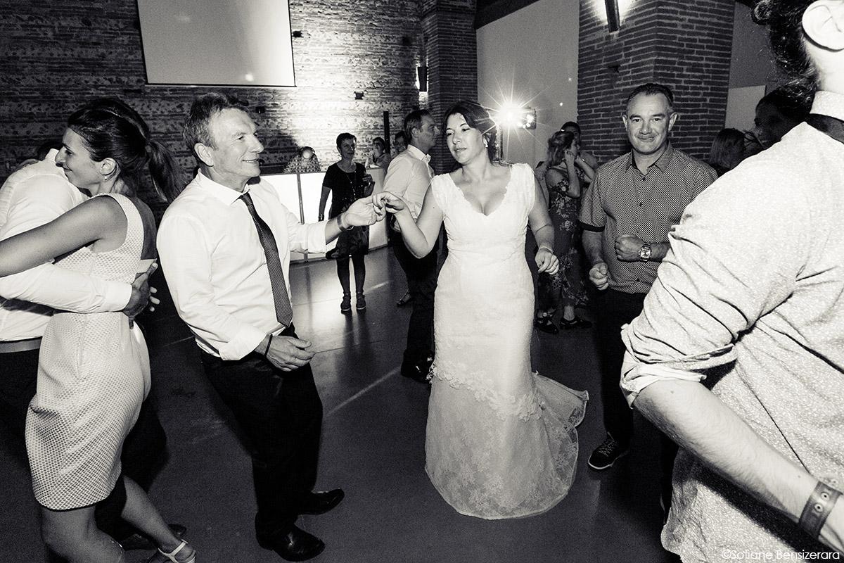 Mariage d'Aurore et Jérôme au Château de Mousens 70 photos mariage danse premiere
