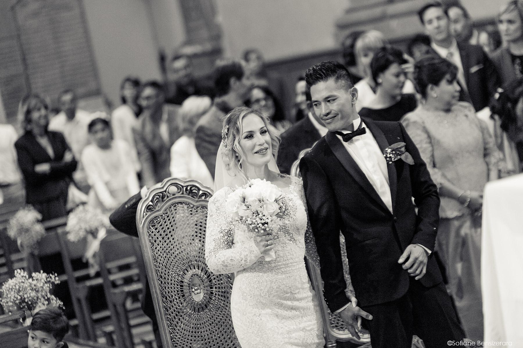 Mariage de Jennifer & Kham à Tournefeuille 18 ceremonie eglise mariage toulouse