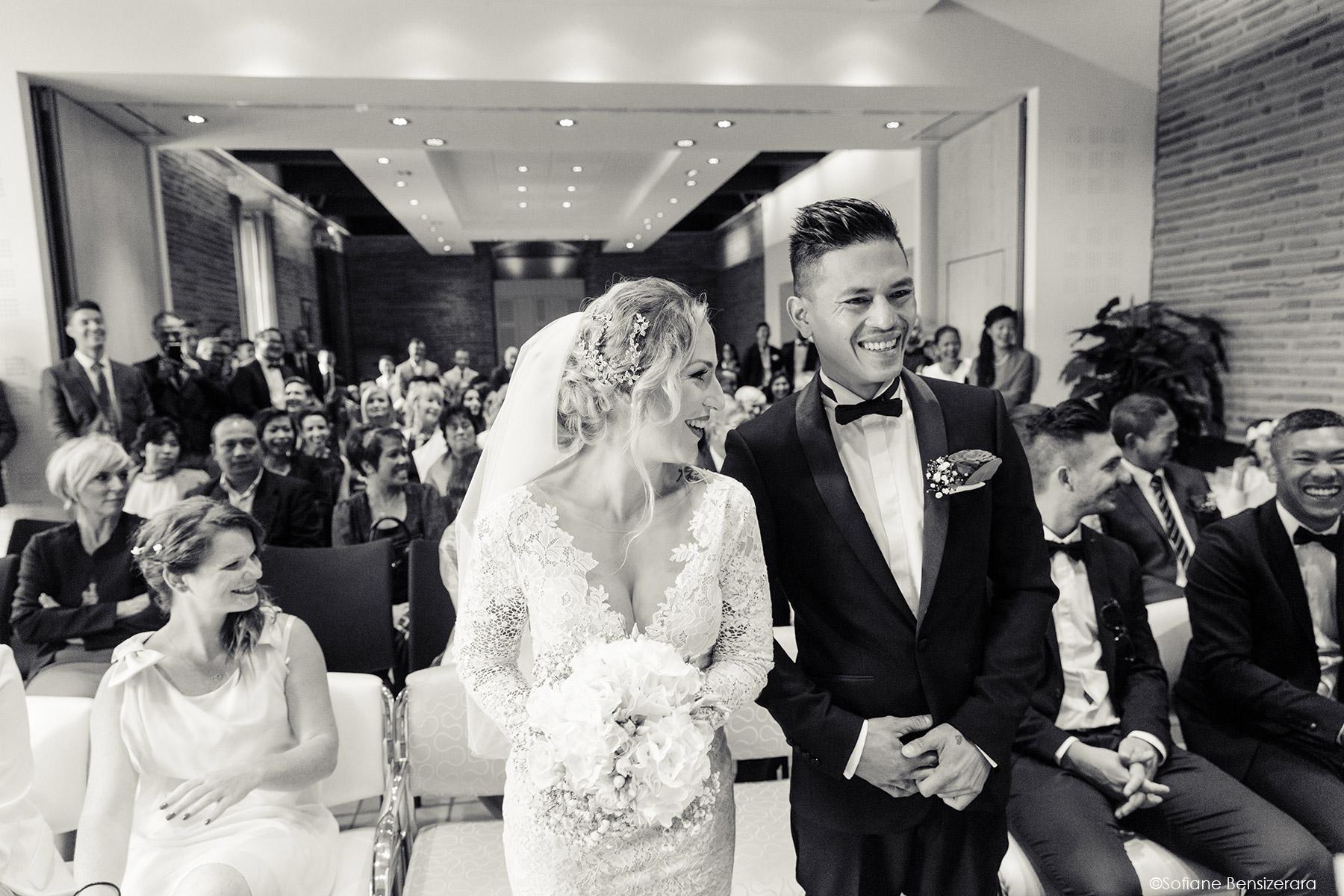 Mariage de Jennifer & Kham à Tournefeuille 12 ceremonie mairie toulouse mariage