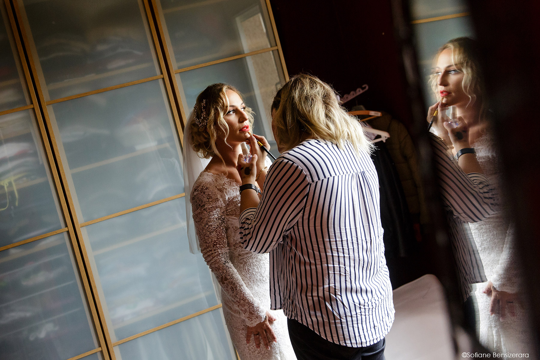 Mariage de Jennifer & Kham à Tournefeuille 10 maquillage mariage photo