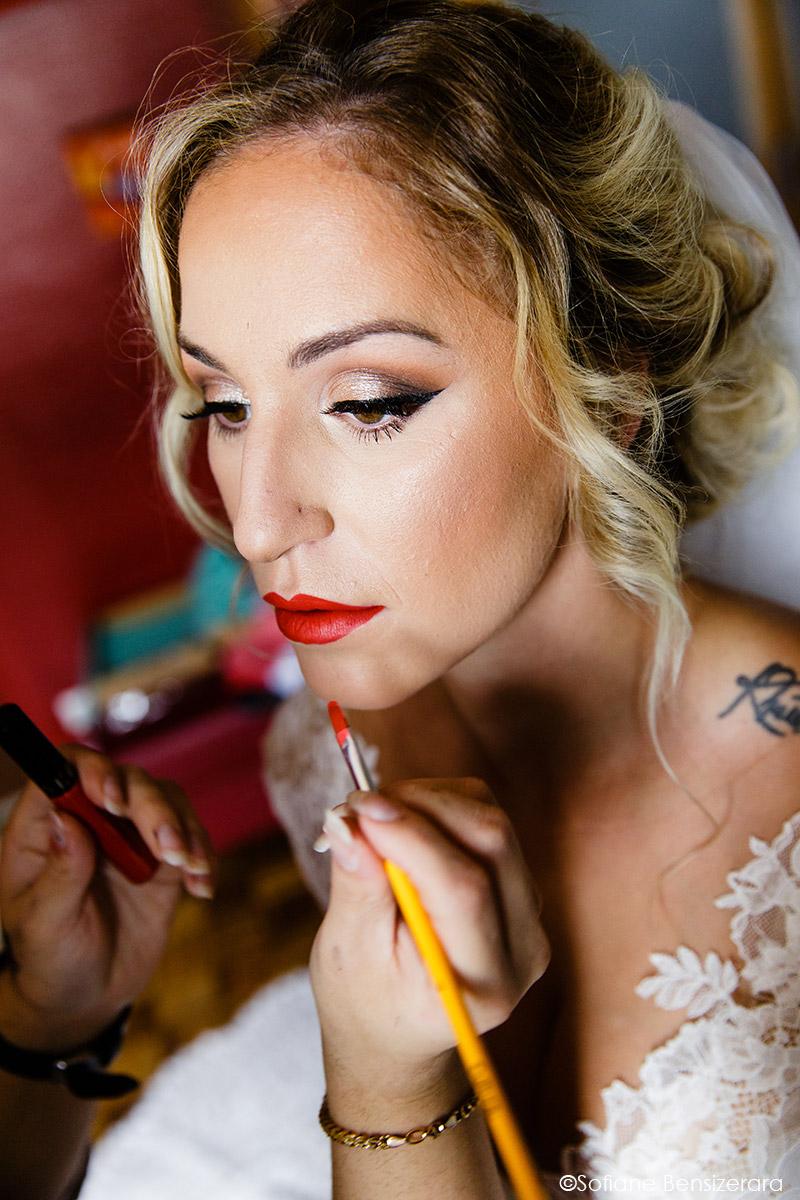 Mariage de Jennifer & Kham à Tournefeuille 9 maquillage mariage