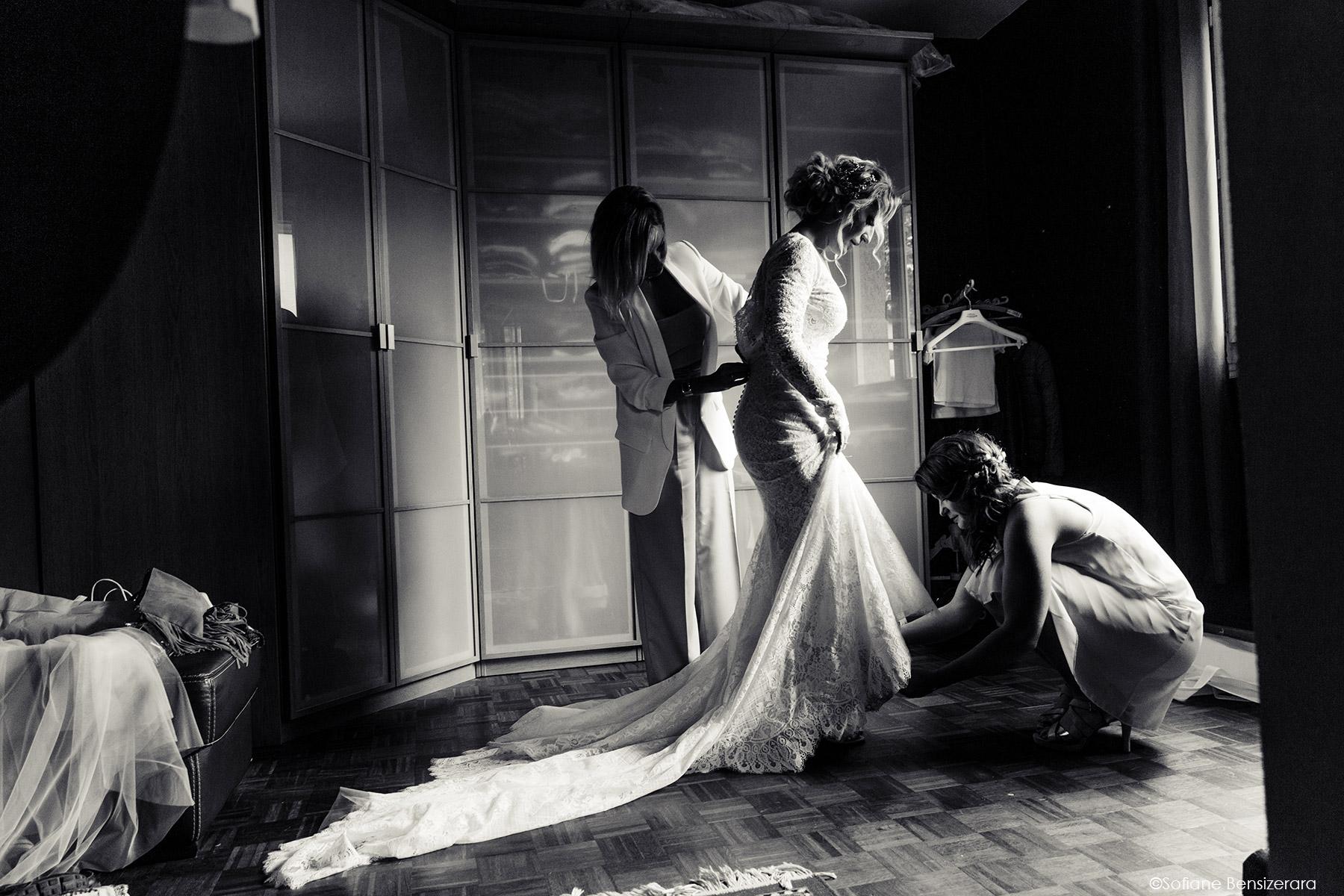 préparatif de la mariée lumière mariage toulouse