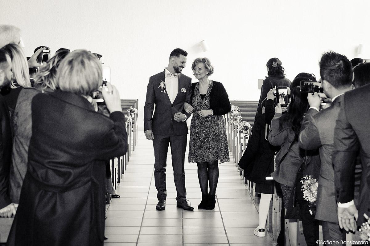entree eglise ceremonie mariage