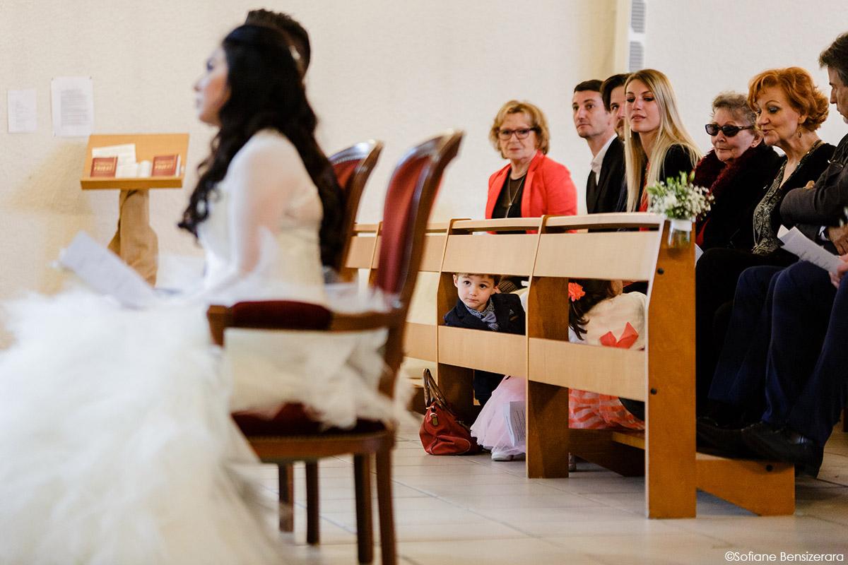 enfant mariage eglise