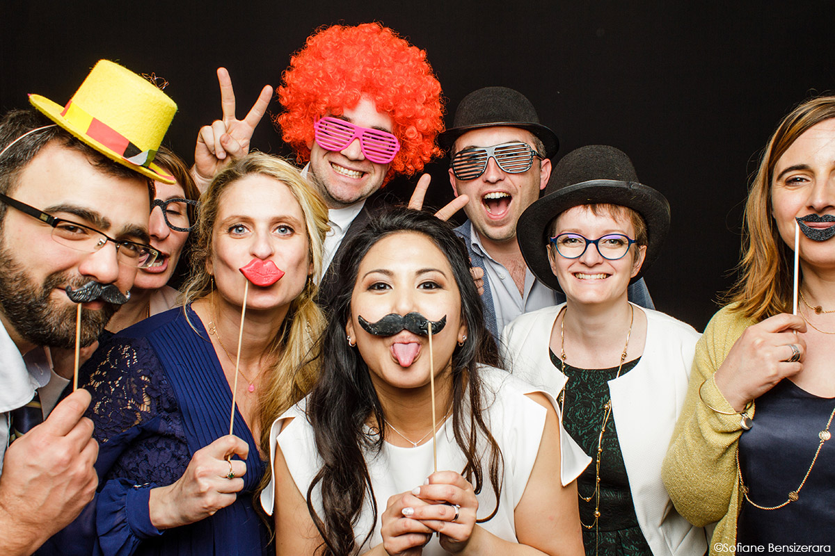 animation marrante mariage photobooth