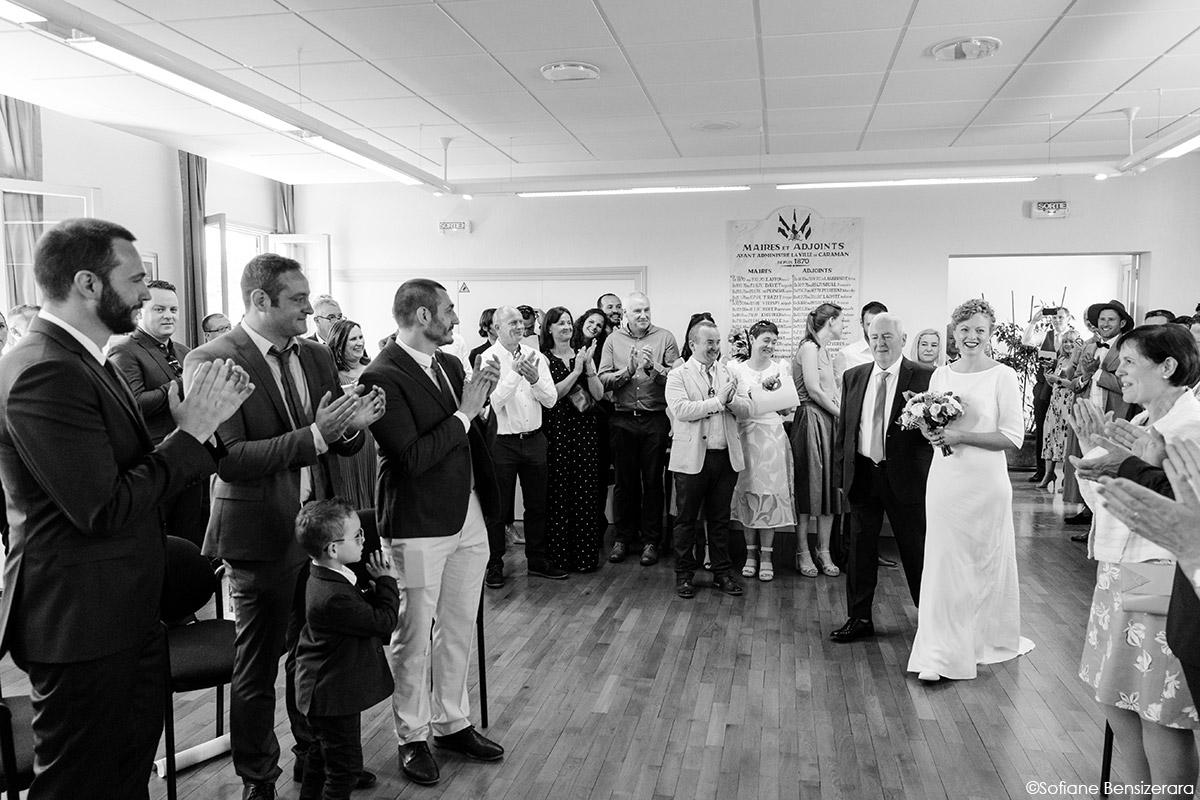 Mariage de Jane & Pierre au Château du Croisillat 23 ceremonie civile toulouse