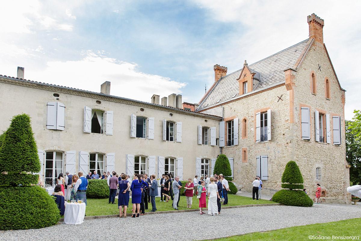 Mariage de Jane & Pierre au Château du Croisillat 67 chateau croisillat toulouse caraman