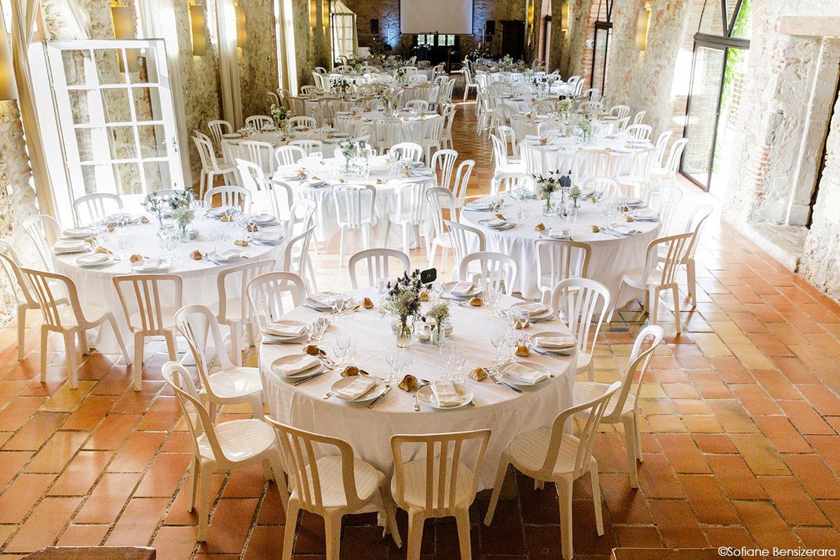 Mariage de Jane & Pierre au Château du Croisillat 64 decoration mariage toulouse