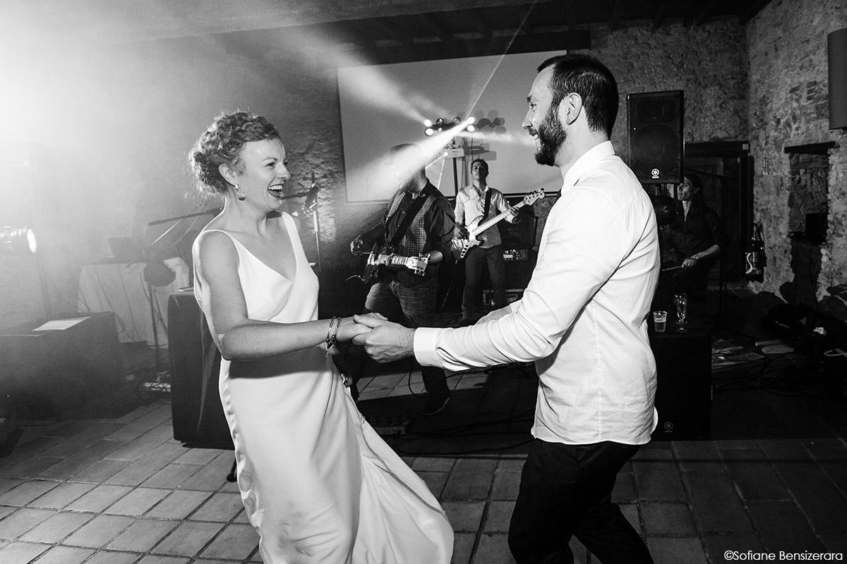 Mariage de Jane & Pierre au Château du Croisillat 80 first dance photographer toulouse