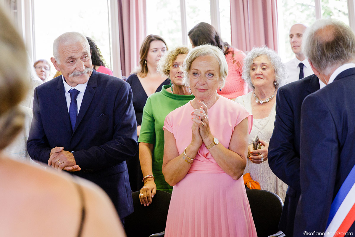 Mariage de Jane & Pierre au Château du Croisillat 27 mairie mariage caraman