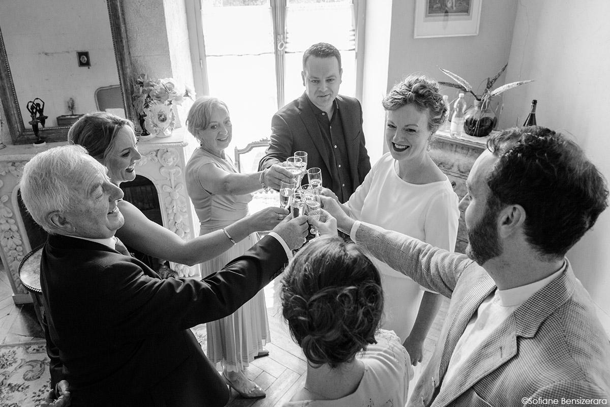 Mariage de Jane & Pierre au Château du Croisillat 17 mariage tarif photographe