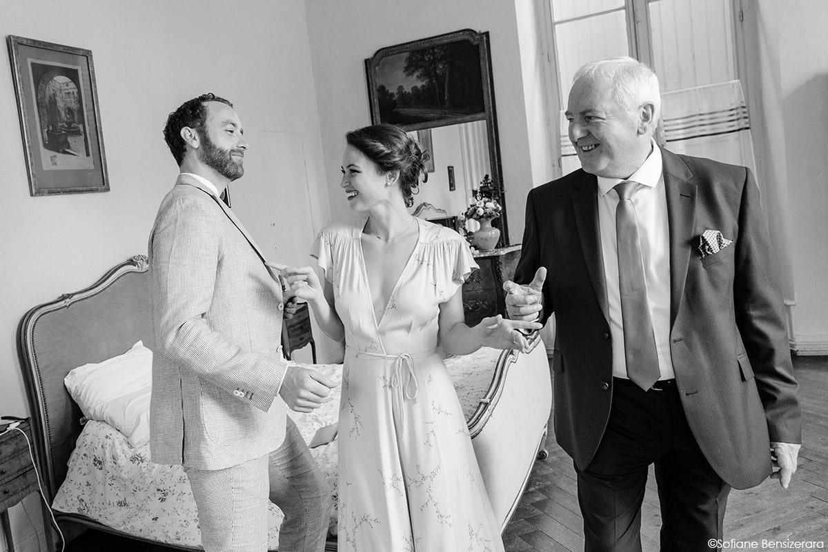 Mariage de Jane & Pierre au Château du Croisillat 15 organisation mariage toulouse