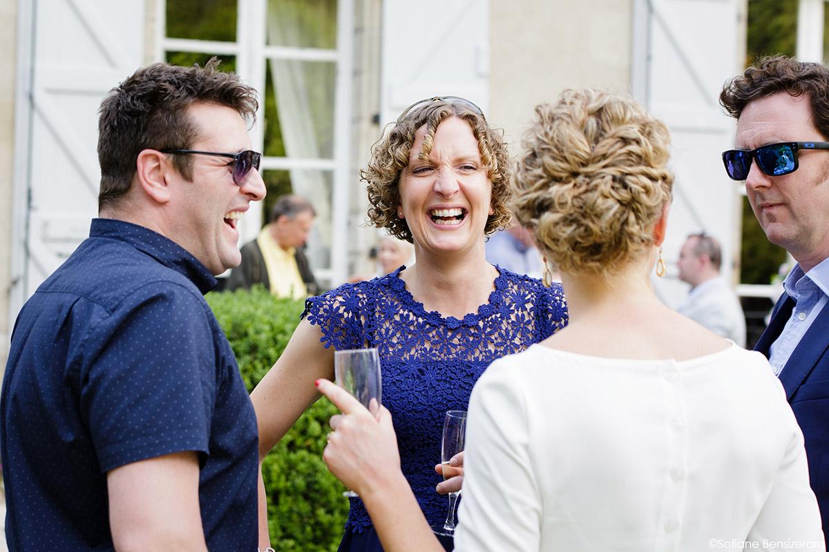 Mariage de Jane & Pierre au Château du Croisillat 69 photo sur le vif coktail mariage