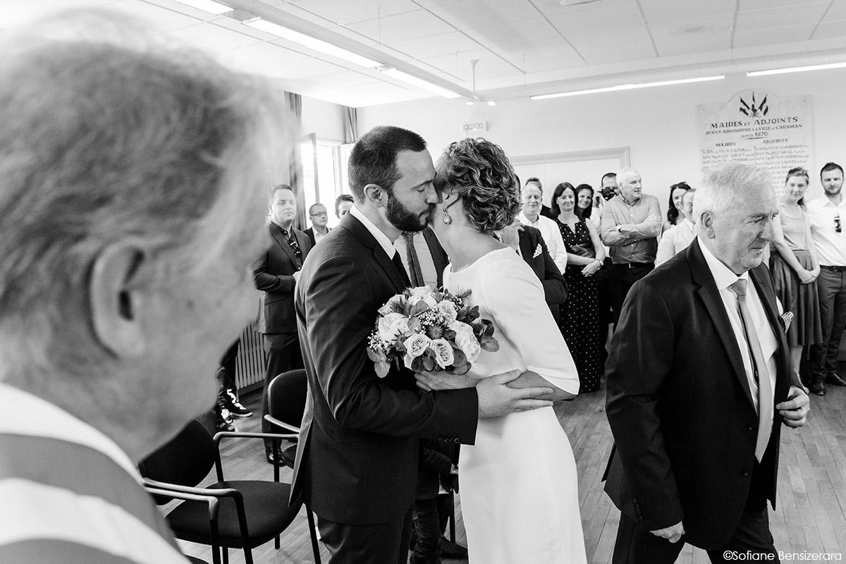 Mariage de Jane & Pierre au Château du Croisillat 29 photographe mariage portrait toulouse