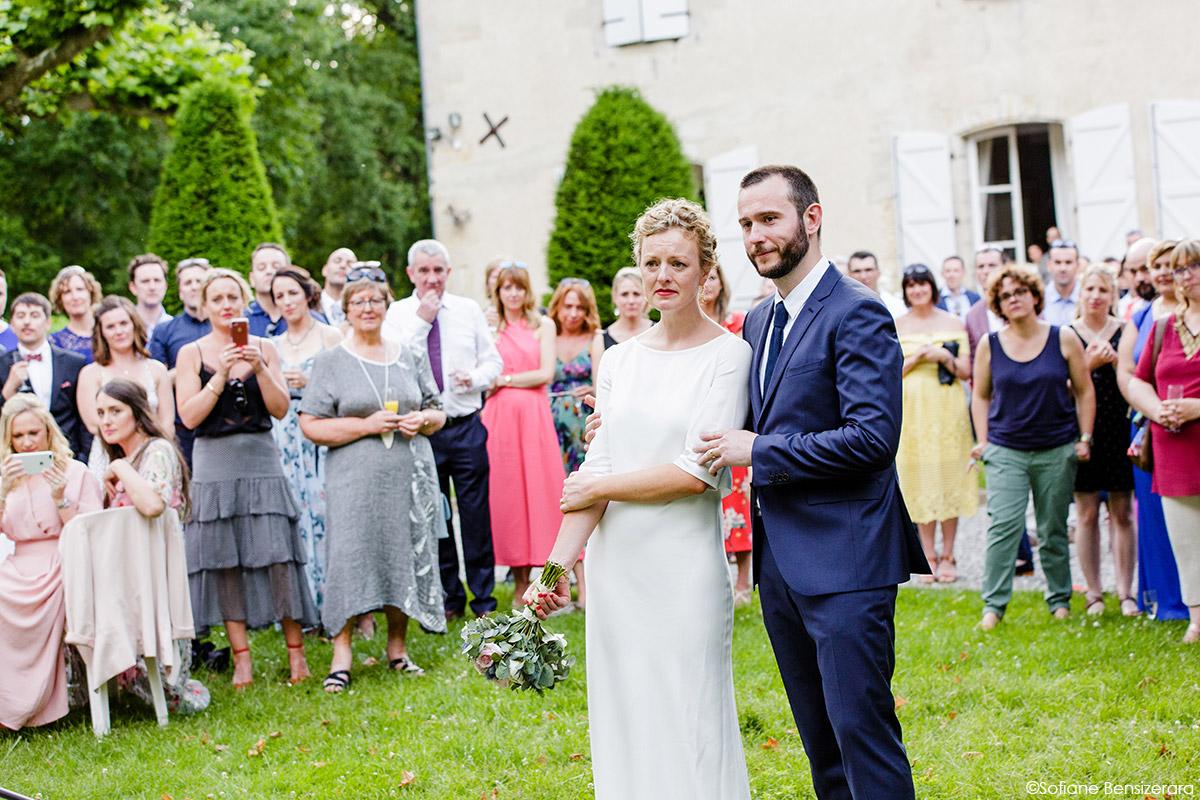 Mariage de Jane & Pierre au Château du Croisillat 74 photos discour emouvant mariage