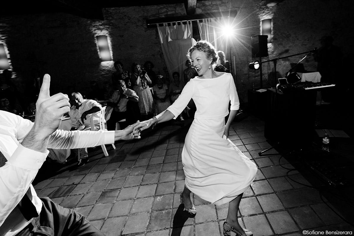 Mariage de Jane & Pierre au Château du Croisillat 87 premiere danse mariage photographe