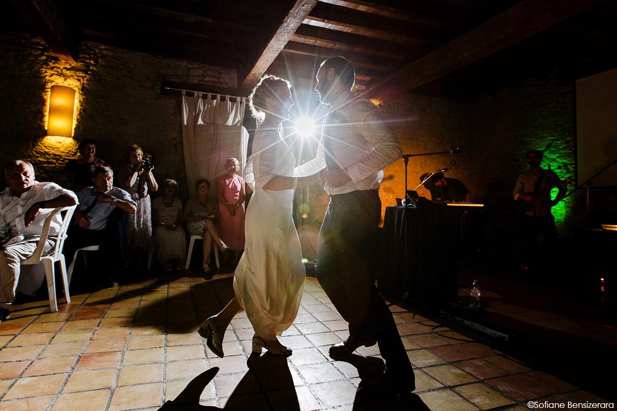 Mariage de Jane & Pierre au Château du Croisillat 81 premiere danse mariage toulouse