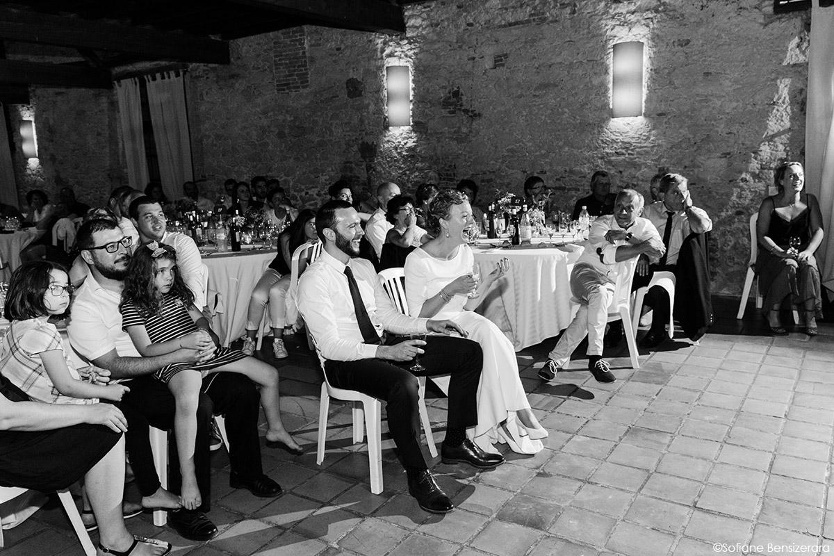 Mariage de Jane & Pierre au Château du Croisillat 79 soiree mariage photographe