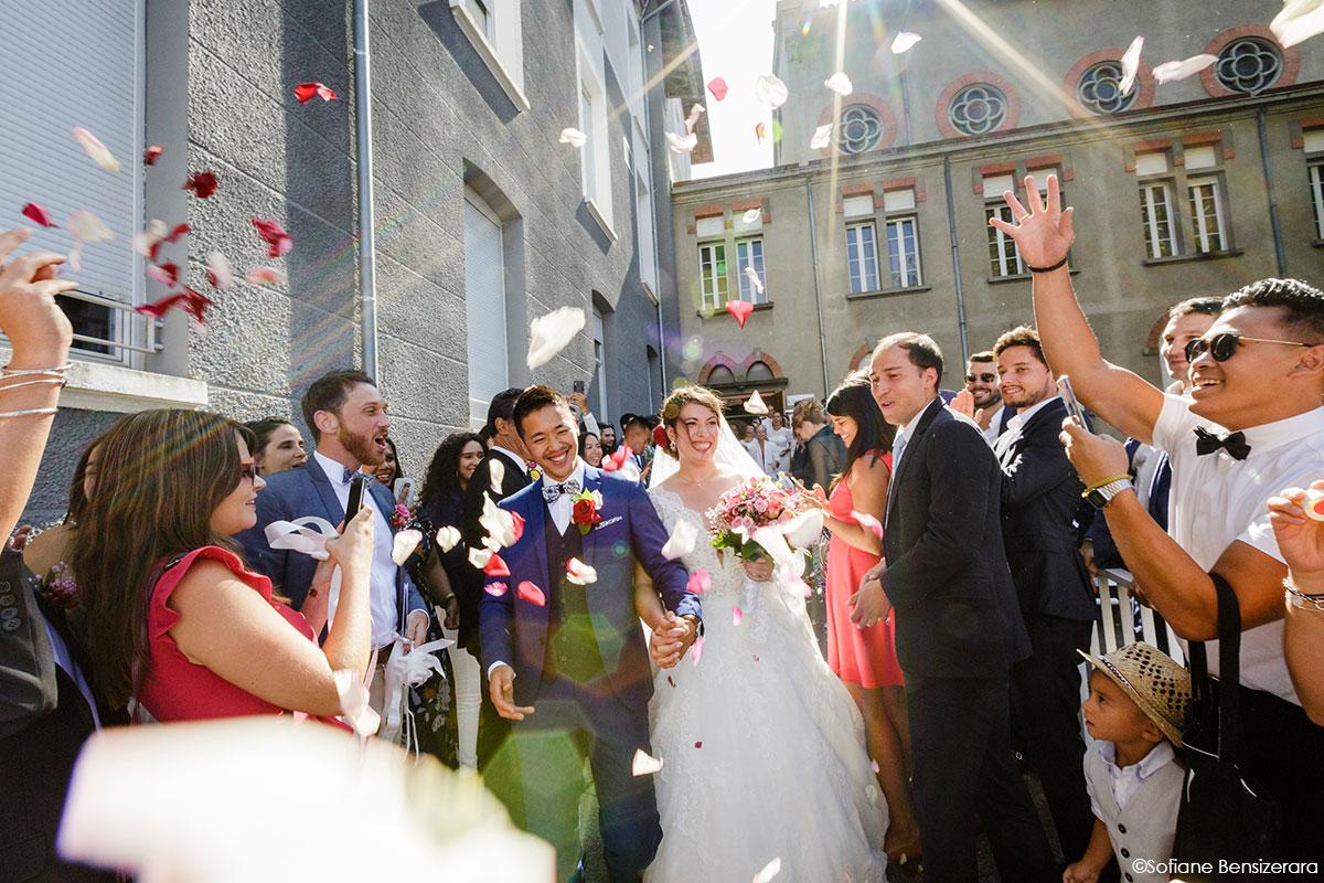 sortie eglise photos mariage toulouse
