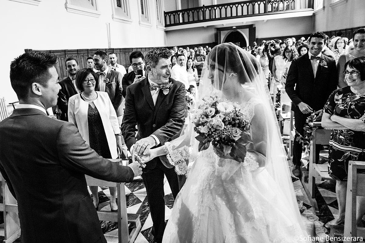 photos cérémonie mariage eglise toulouse