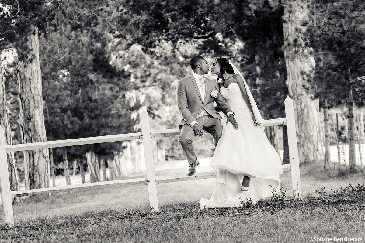 Couple 19 photo mariage chateau de seyre wedding