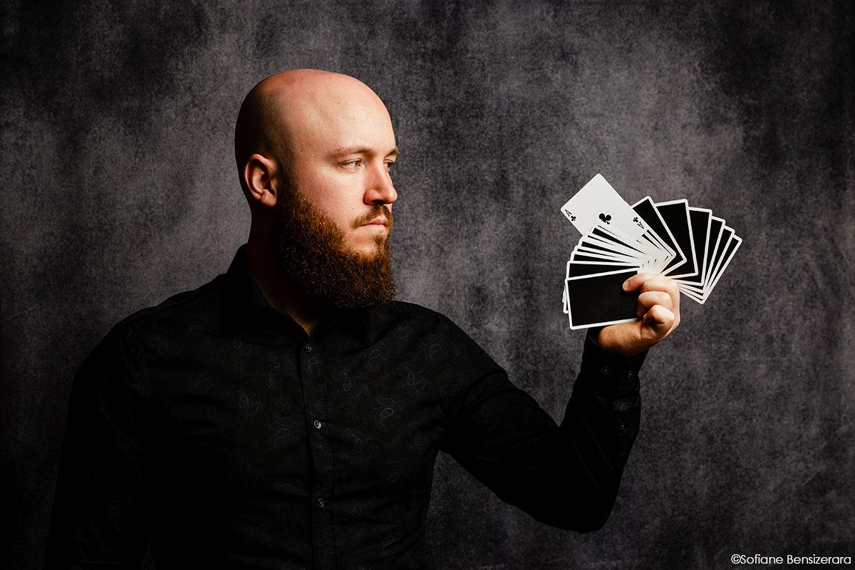portrait artiste magicien toulouse