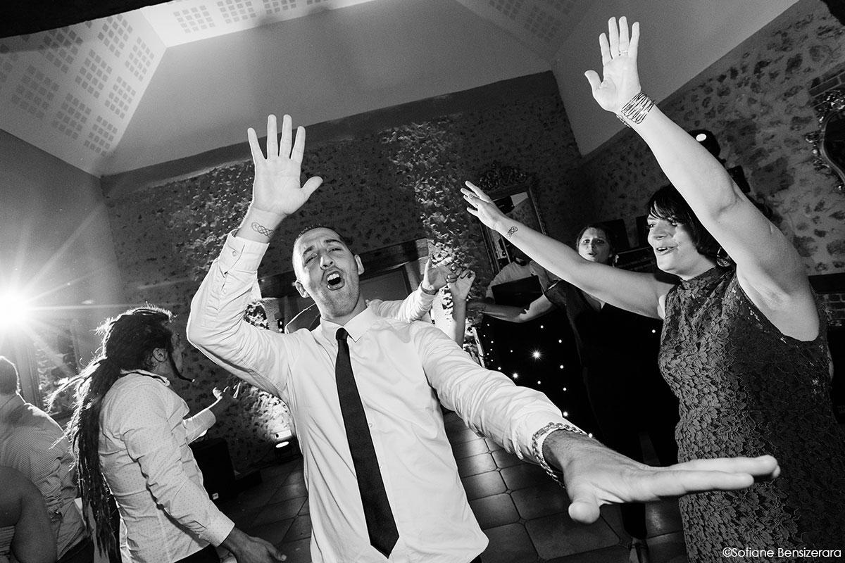 photographie fun mariage