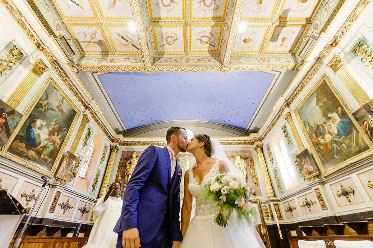 Mariage de Mathilde & Alexandre au Miroir des Lys 47 couple ceremonie mariage