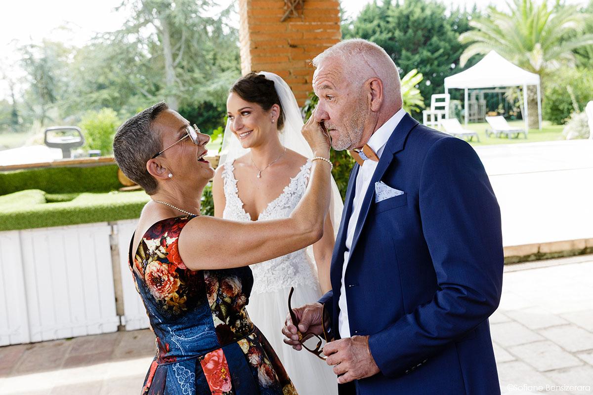 Mariage de Mathilde & Alexandre au Miroir des Lys 17 decouverte mariee photos