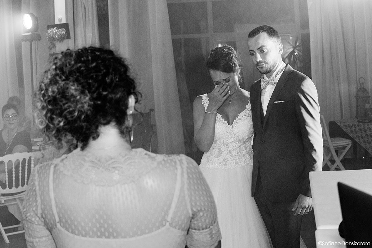 Mariage de Mathilde & Alexandre au Miroir des Lys 66 discour mariage