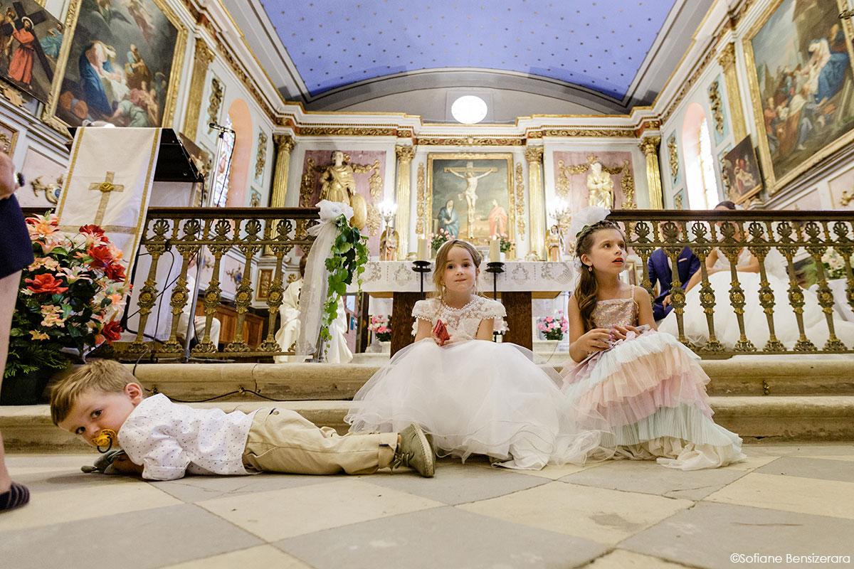 Mariage de Mathilde & Alexandre au Miroir des Lys 40 enfant honneur mariage