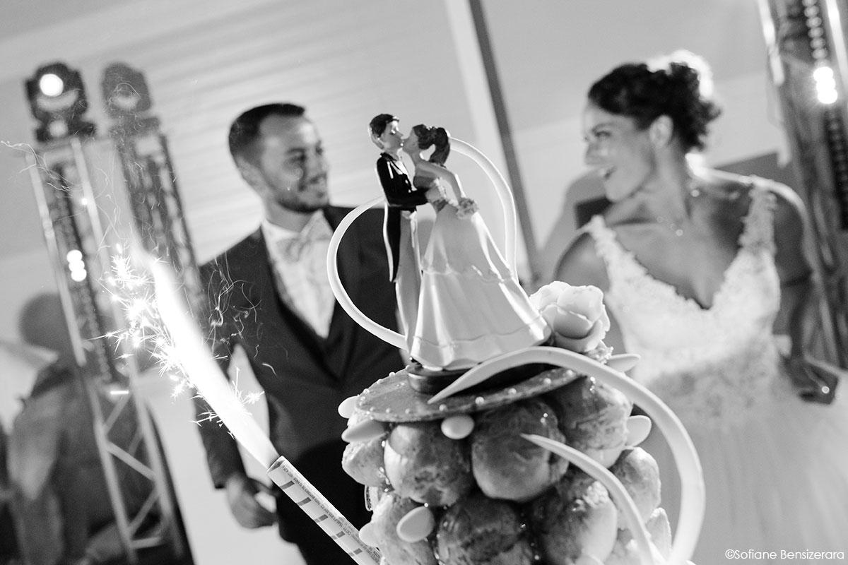 Mariage de Mathilde & Alexandre au Miroir des Lys 69 gateau mariage toulouse