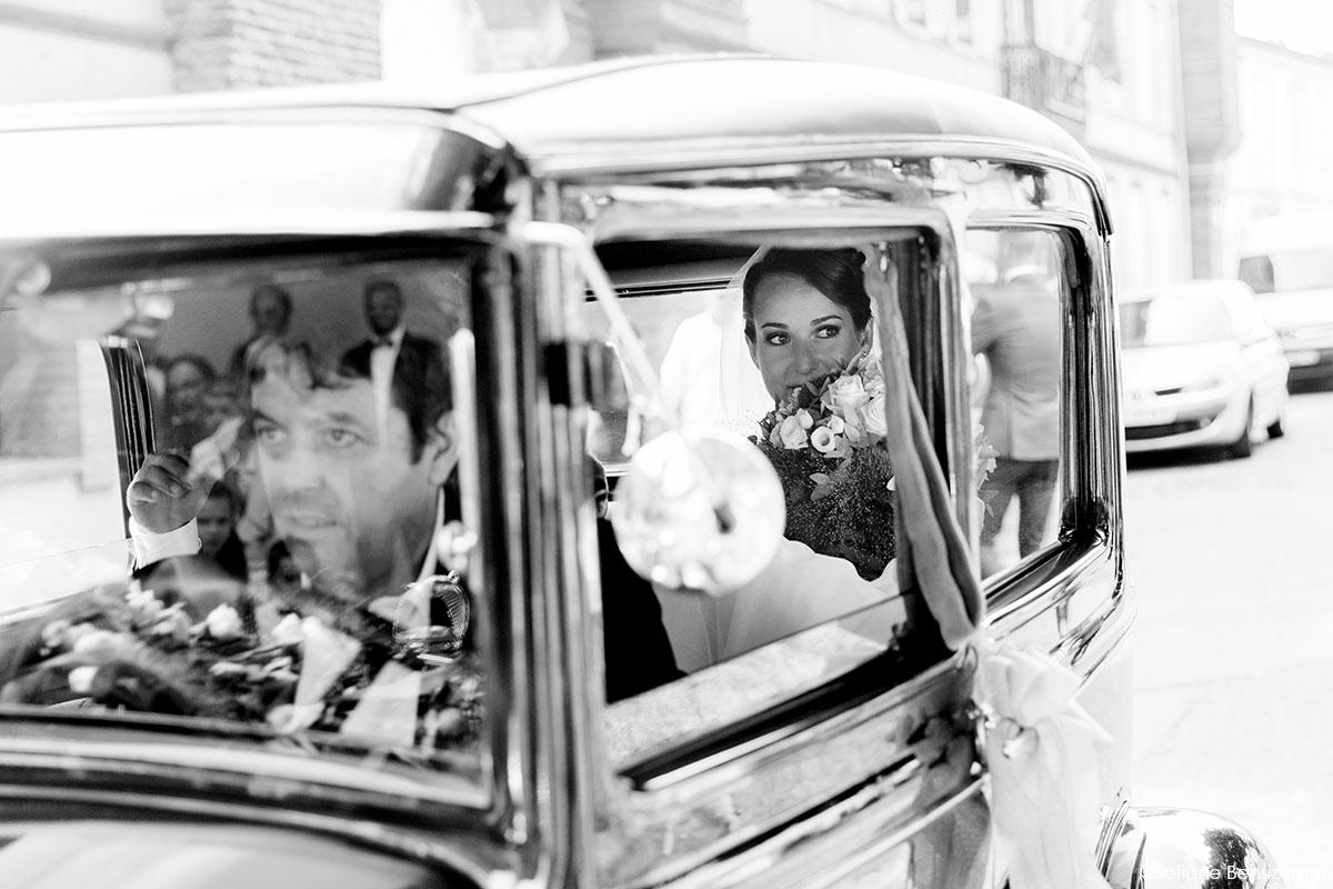 Mariage de Mathilde & Alexandre au Miroir des Lys 23 location voiture mariage toulouse